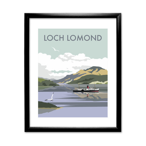 Loch Lomond 11x14 Framed Print (Black)