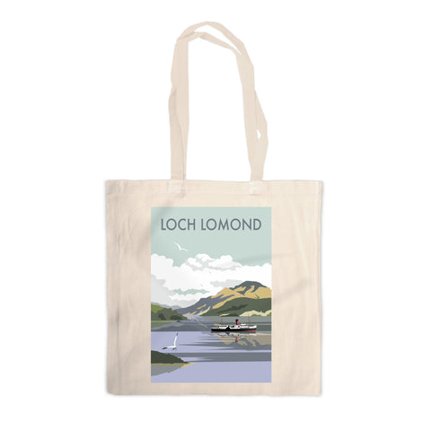 Loch Lomond Canvas Tote Bag