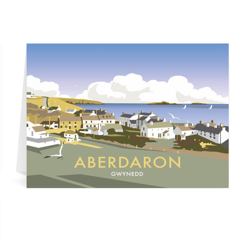 Aberdaron, South Wales Greeting Card 7x5