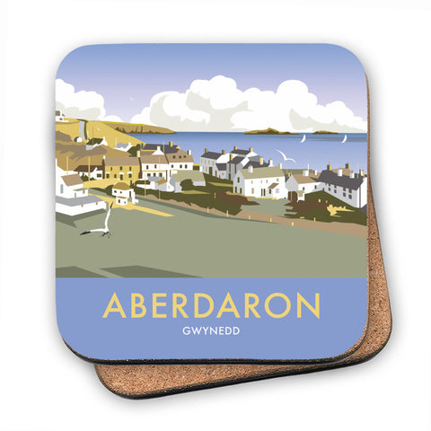 Aberdaron, South Wales MDF Coaster