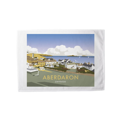 Aberdaron, South Wales Tea Towel