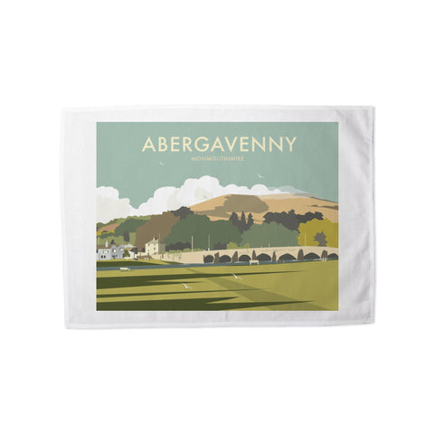 Abergavenny, South Wales Tea Towel