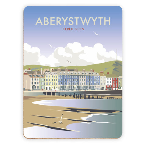 Aberystwyth, South Wales Placemat