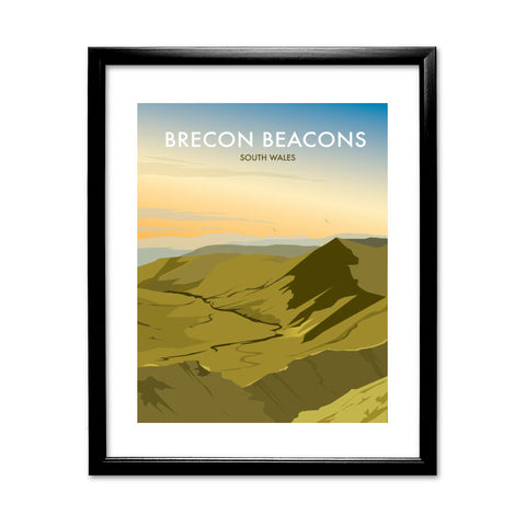 Brecon Beacons, Wales 11x14 Framed Print (Black)