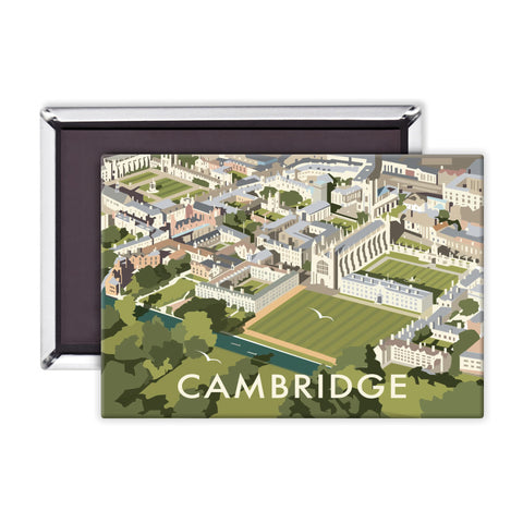 An Aerial View of Cambridge, Cambridgeshire Magnet