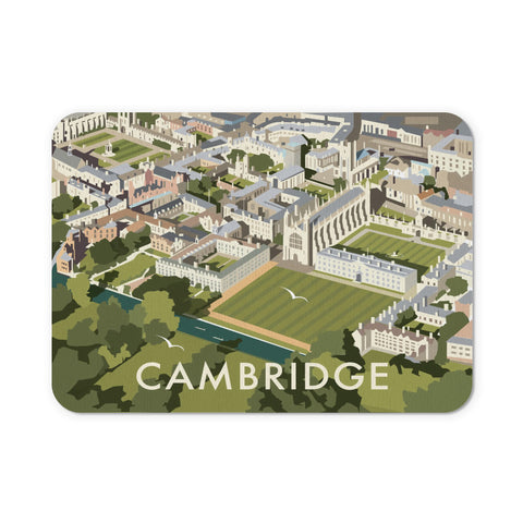 An Aerial View of Cambridge, Cambridgeshire Mouse Mat