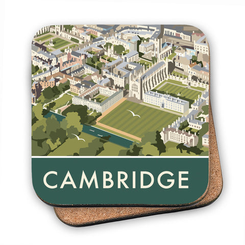 An Aerial View of Cambridge, Cambridgeshire MDF Coaster