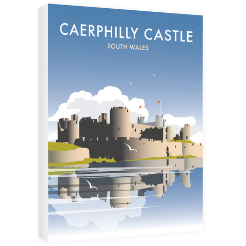 Caerphilly Castle, South Wales Canvas