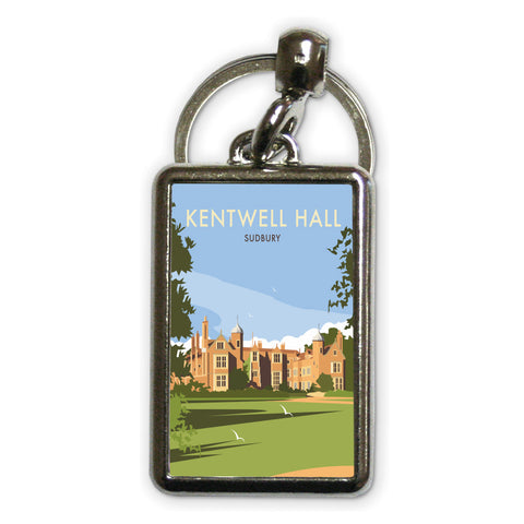 Kentwell Hall, Sudbury Metal Keyring