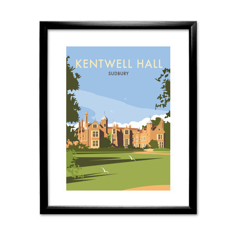Kentwell Hall, Sudbury 11x14 Framed Print (Black)