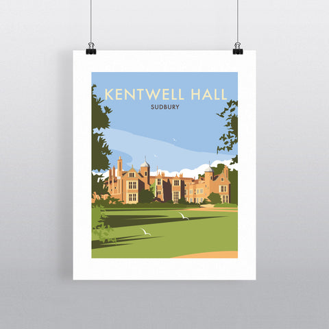 Kentwell Hall, Sudbury Fine Art Print