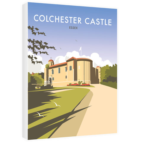 Colchester Castle Canvas