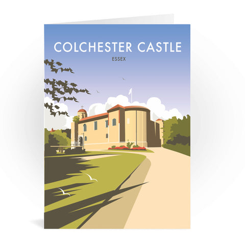 Colchester Castle Greeting Card 7x5