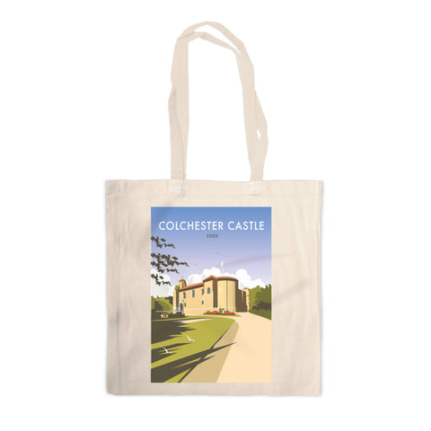 Colchester Castle Canvas Tote Bag