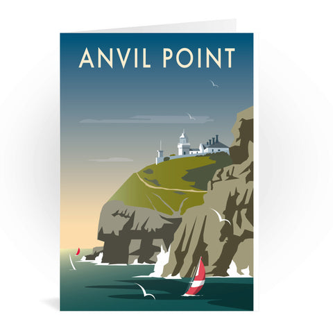 Anvil Point Greeting Card 7x5