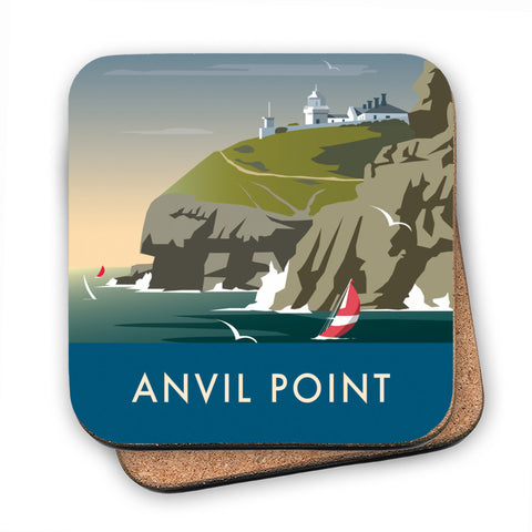 Anvil Point MDF Coaster