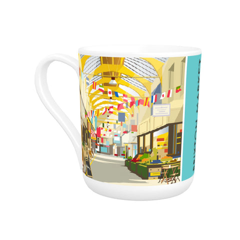 Brixton Market Bone China Mug