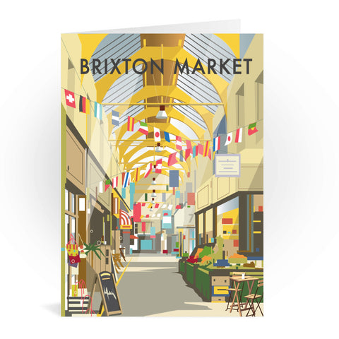 Brixton Market Greeting Card 7x5