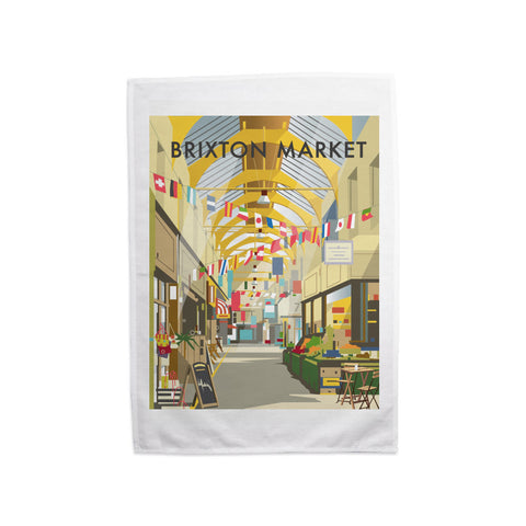 Brixton Market Tea Towel