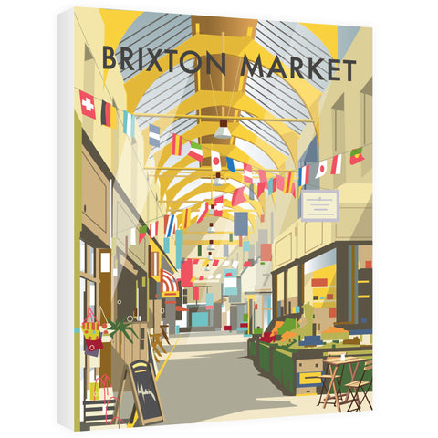 Brixton Market Canvas