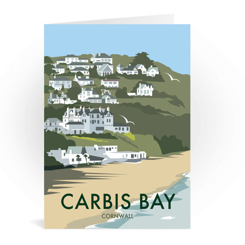 Carbis Bay, Cornwall Greeting Card 7x5