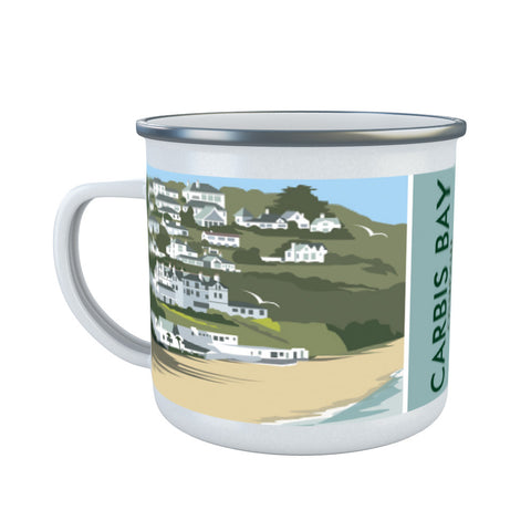 Carbis Bay, Cornwall Enamel Mug
