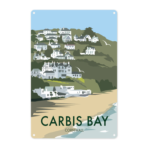Carbis Bay, Cornwall Metal Sign