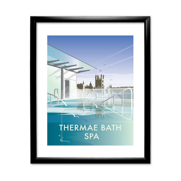 Thermae Bath Spa 11x14 Framed Print (Black)