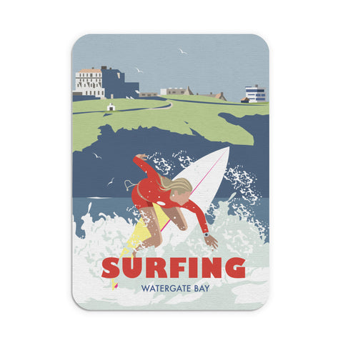 Watergate Bay, Cornwall Mouse Mat