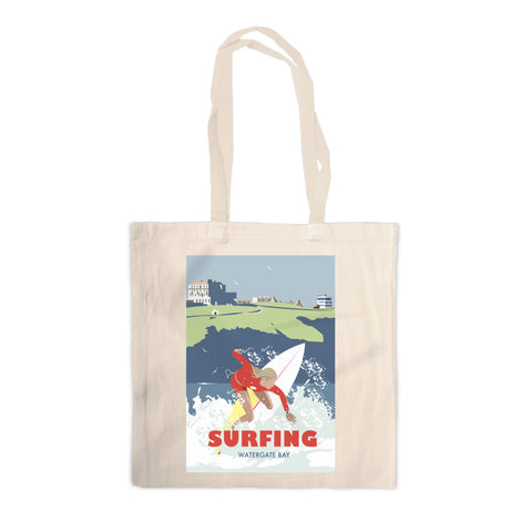 Watergate Bay, Cornwall Canvas Tote Bag
