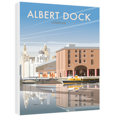 Albert Dock, Liverpool Canvas