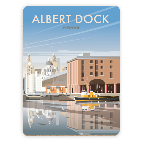 Albert Dock, Liverpool Placemat