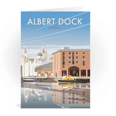 Albert Dock, Liverpool Greeting Card 7x5