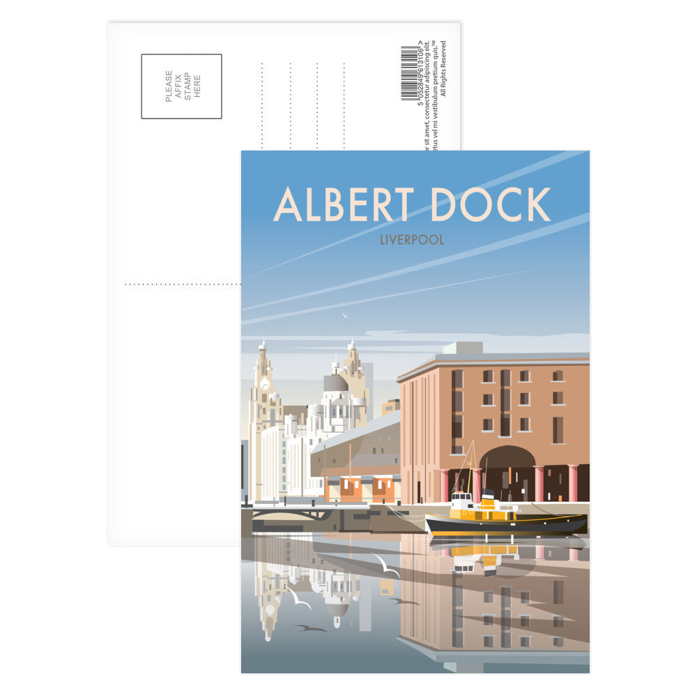 Albert Dock, Liverpool Postcard Pack