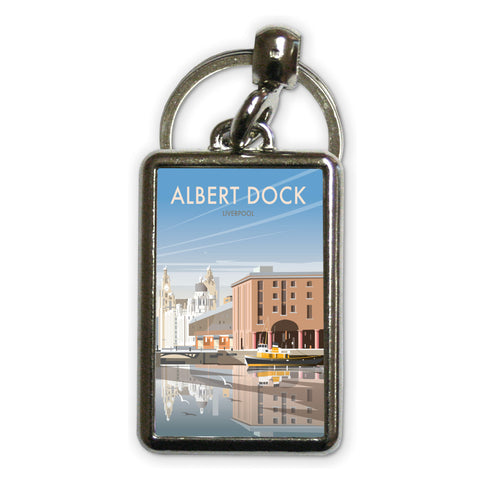 Albert Dock, Liverpool Metal Keyring