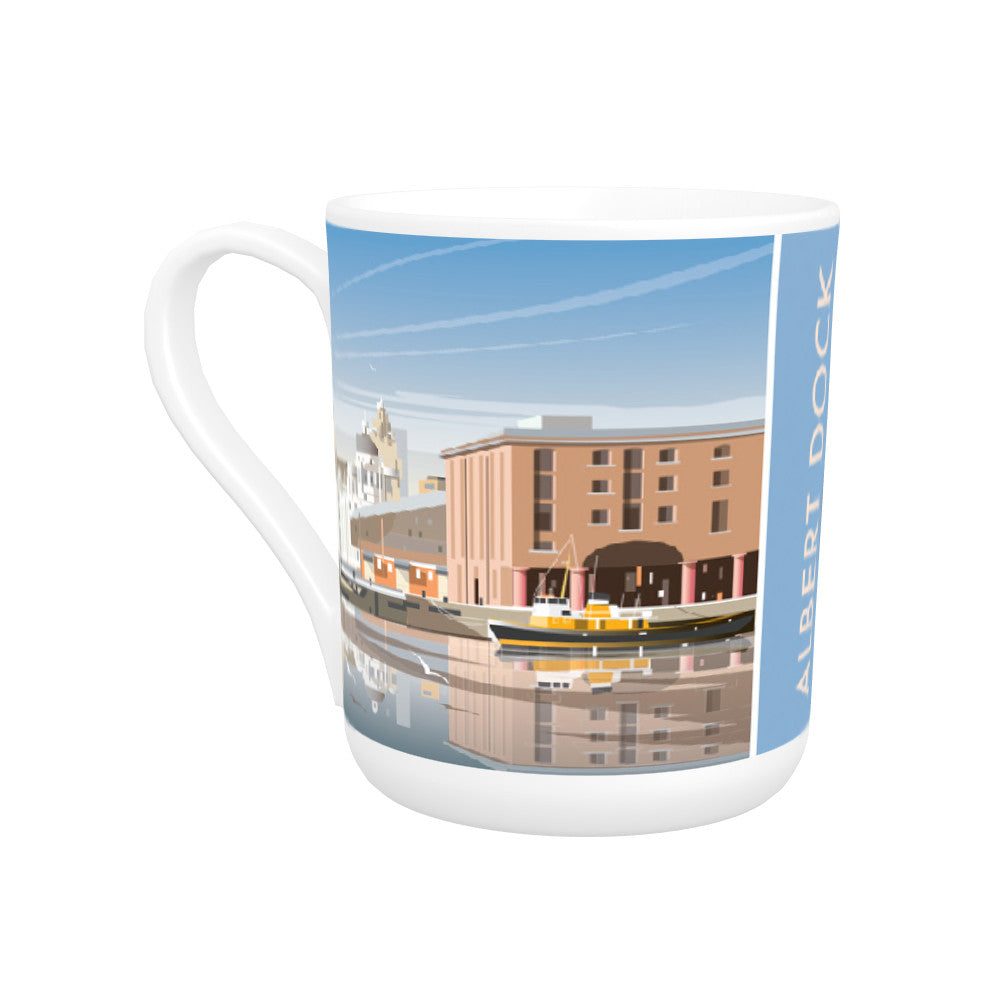 Albert Dock, Liverpool Bone China Mug