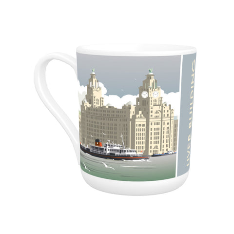 Liver Building, Liverpool Bone China Mug