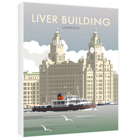 Liver Building, Liverpool Canvas