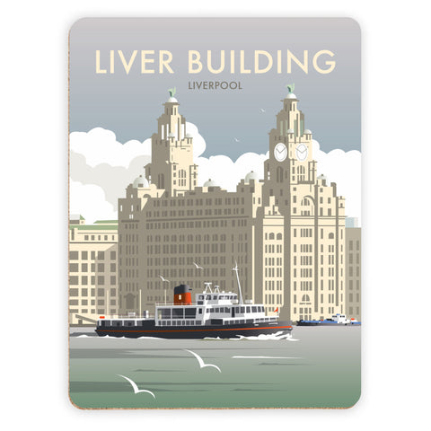 Liver Building, Liverpool Placemat