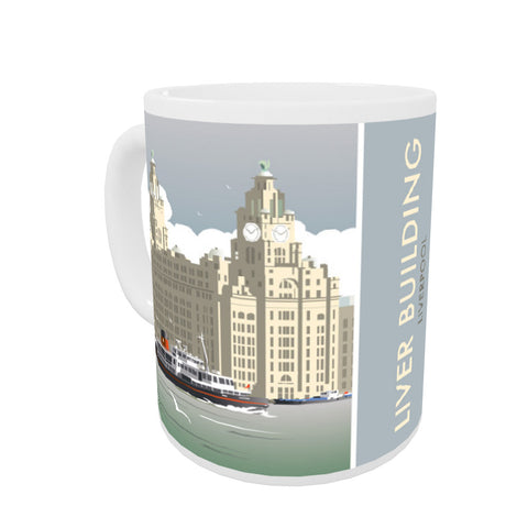 Liver Building, Liverpool Coloured Insert Mug