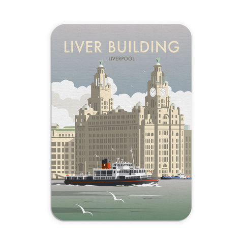Liver Building, Liverpool Mouse Mat