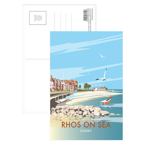 Rhos on Sea, Wales Postcard Pack