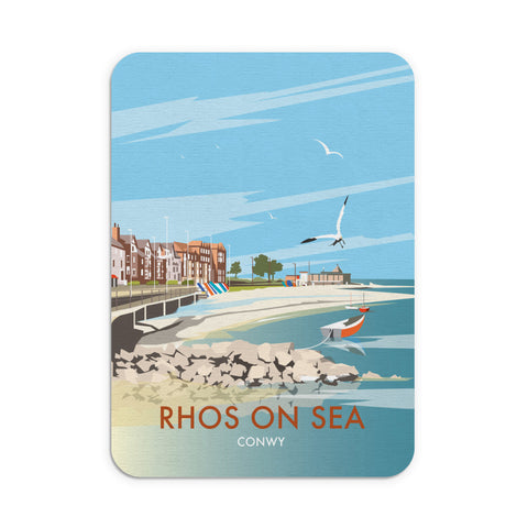 Rhos on Sea, Wales Mouse Mat