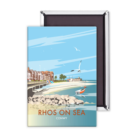 Rhos on Sea, Wales Magnet