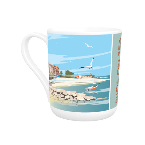Rhos on Sea, Wales Bone China Mug