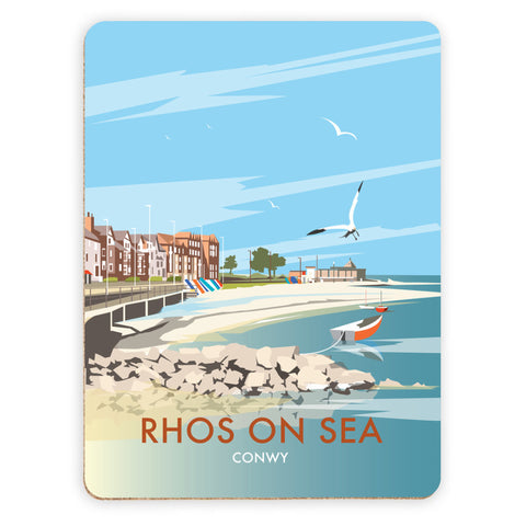 Rhos on Sea, Wales Placemat
