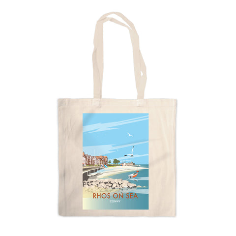 Rhos on Sea, Wales Canvas Tote Bag