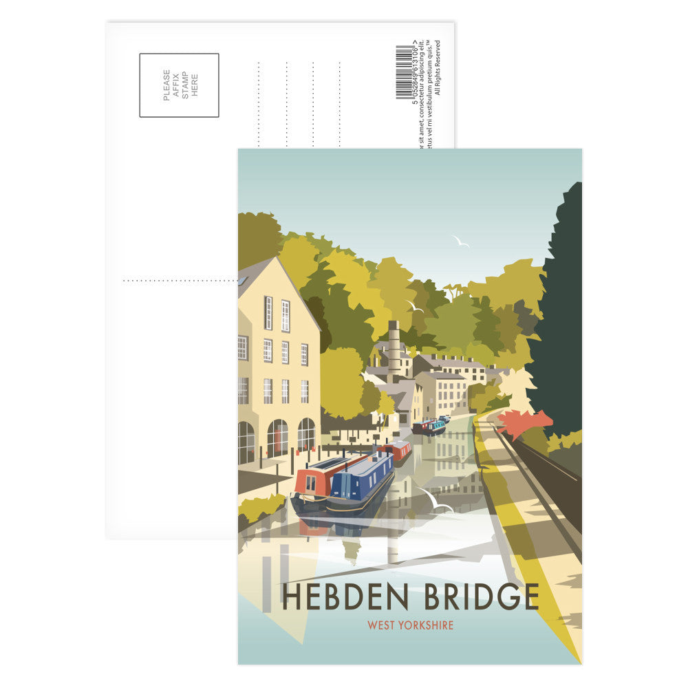 Hebden Bridge Postcard Pack