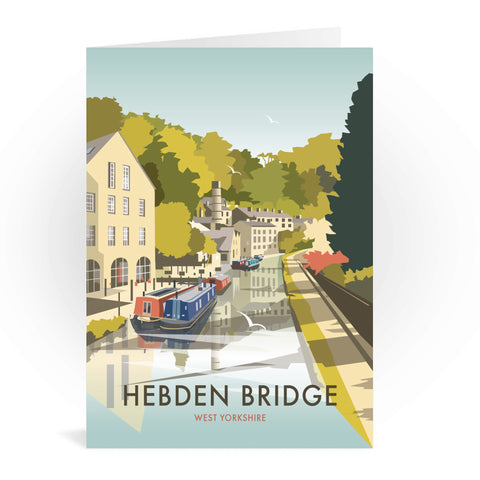 Hebden Bridge Greeting Card 7x5