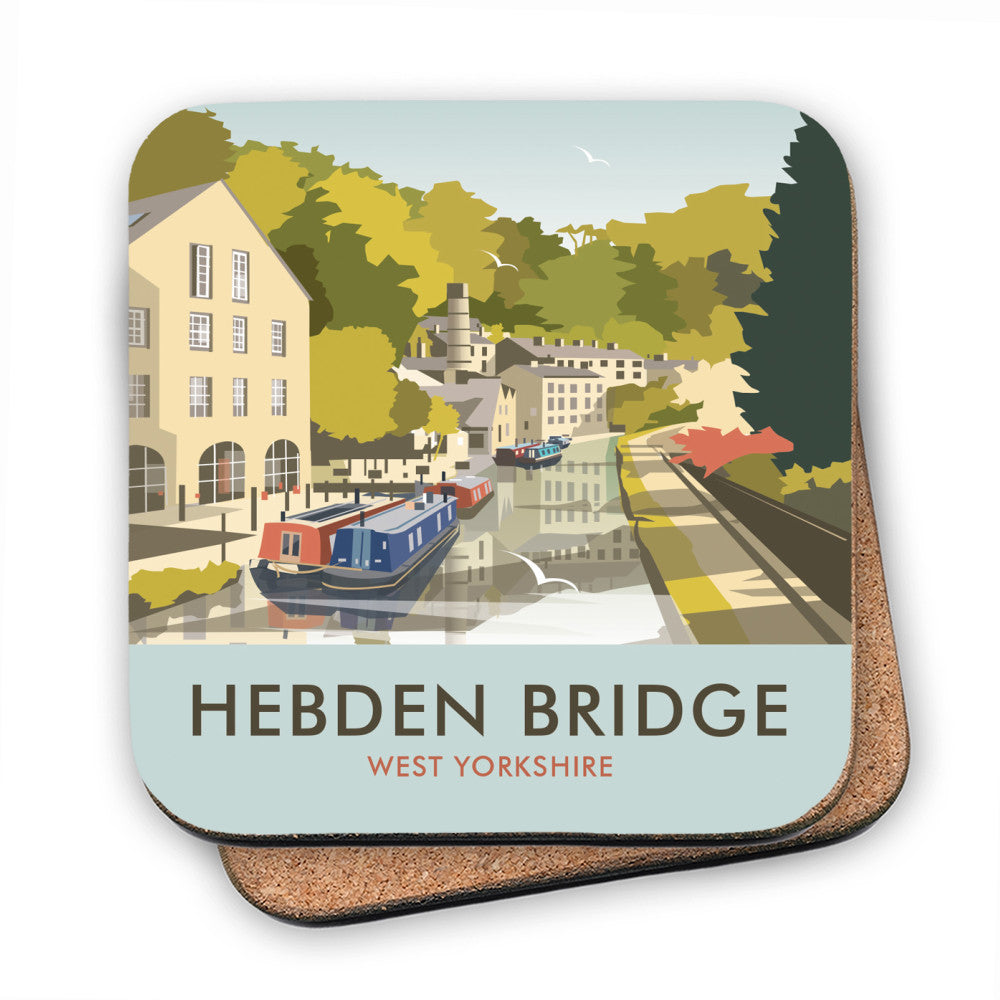 Hebden Bridge MDF Coaster